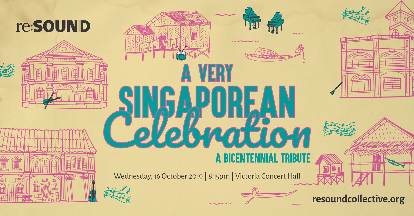 A Very Singaporean Celebration - A Bicentennial Tribute