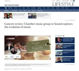Concert review: Chamber music group re:Sound explores the evolution of music