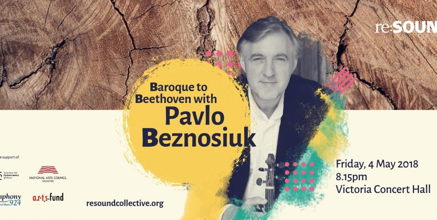 Baroque to Beethoven with Pavlo Beznosiuk
