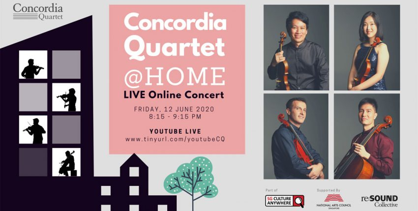 Concordia Quartet @ Home