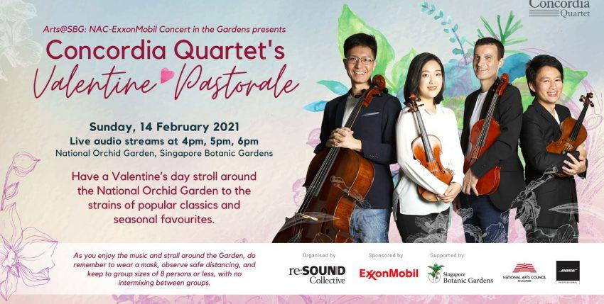 Concordia Quartet's Valentine Pastorale