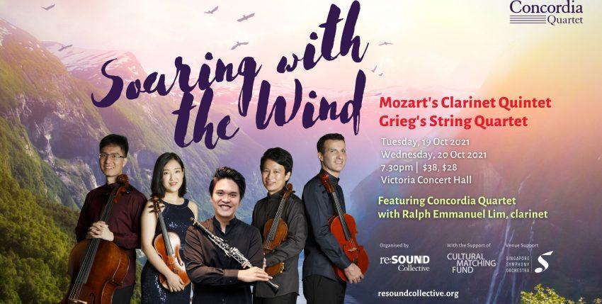 Concordia Quartet – Soaring with the Wind